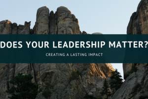 Does Your Leadership Matter?